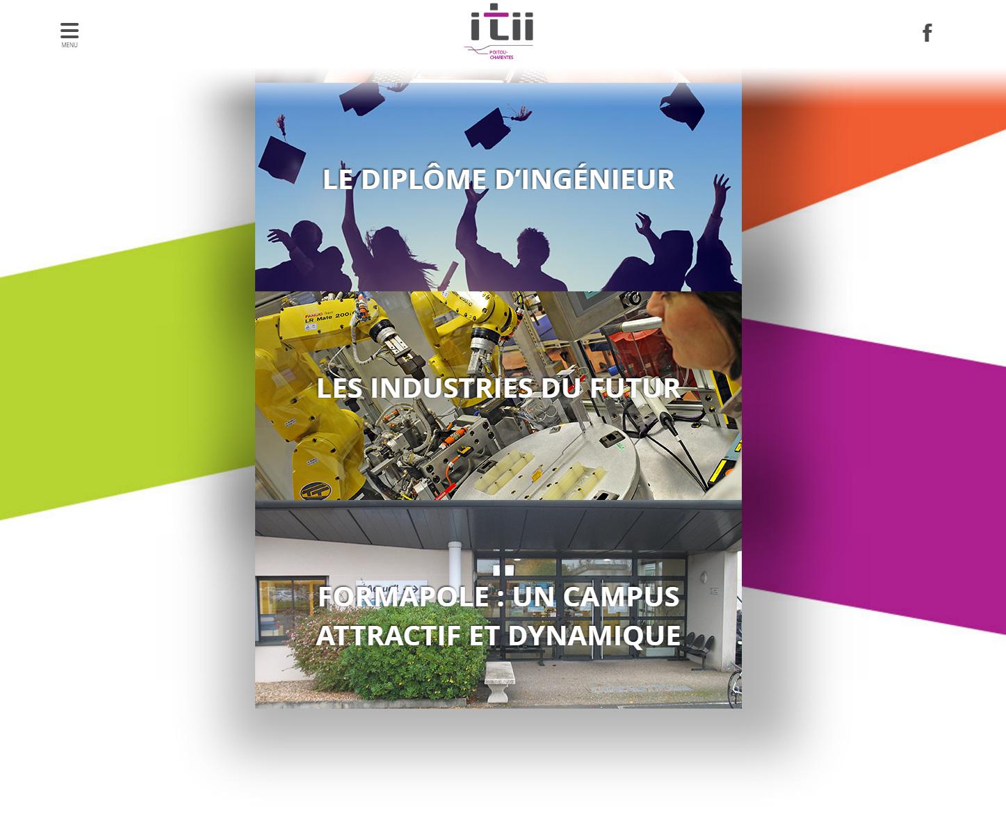 Image 2 du site internet ITII Ecole d ingenieur