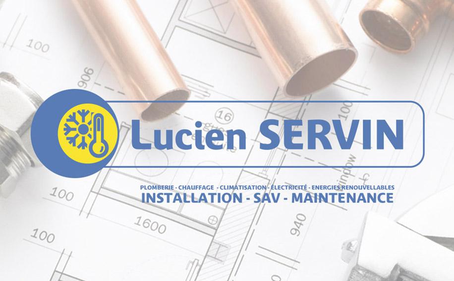 Création d'un site internet pour l'entreprise Lucien Servin