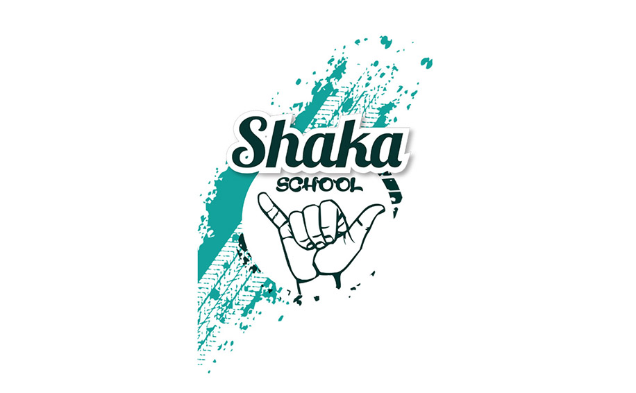 Logo de l' auto école Shaka School