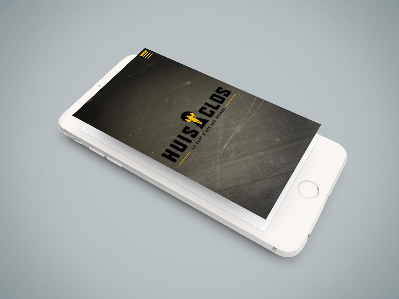 site internet pour mobile escape game huis clos
