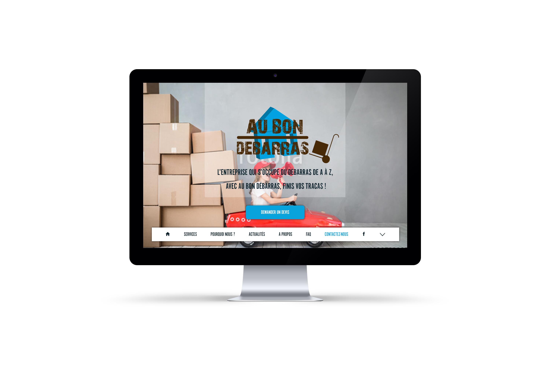 creation d'un site internet pour au bon debarras